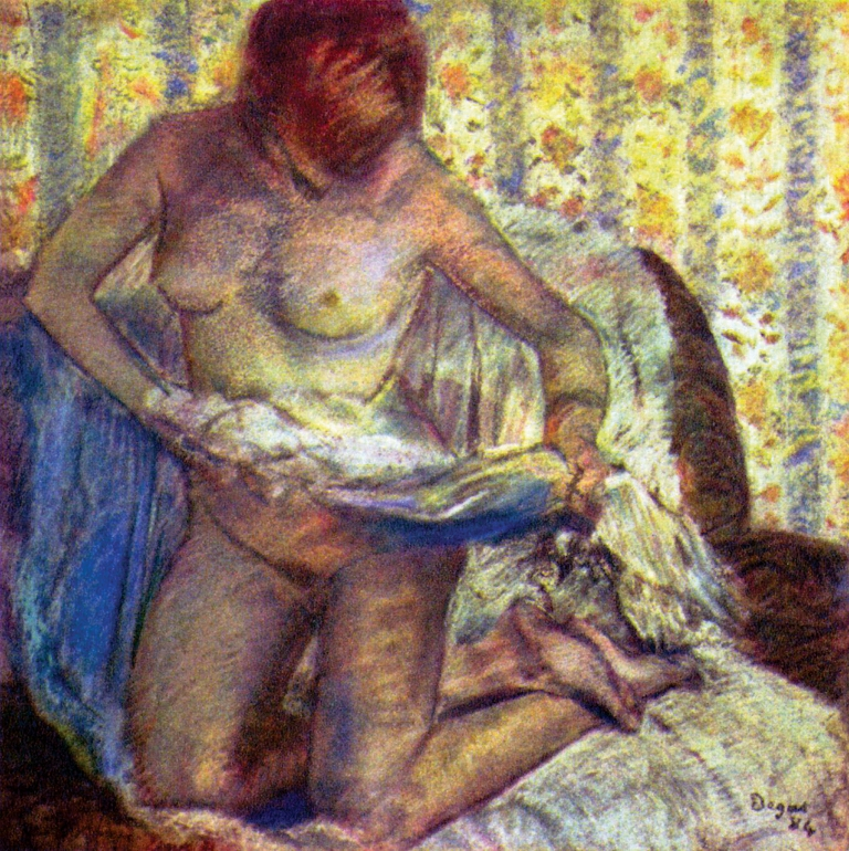 Edgar-Degas_1884-1884_Kneeling-Woman