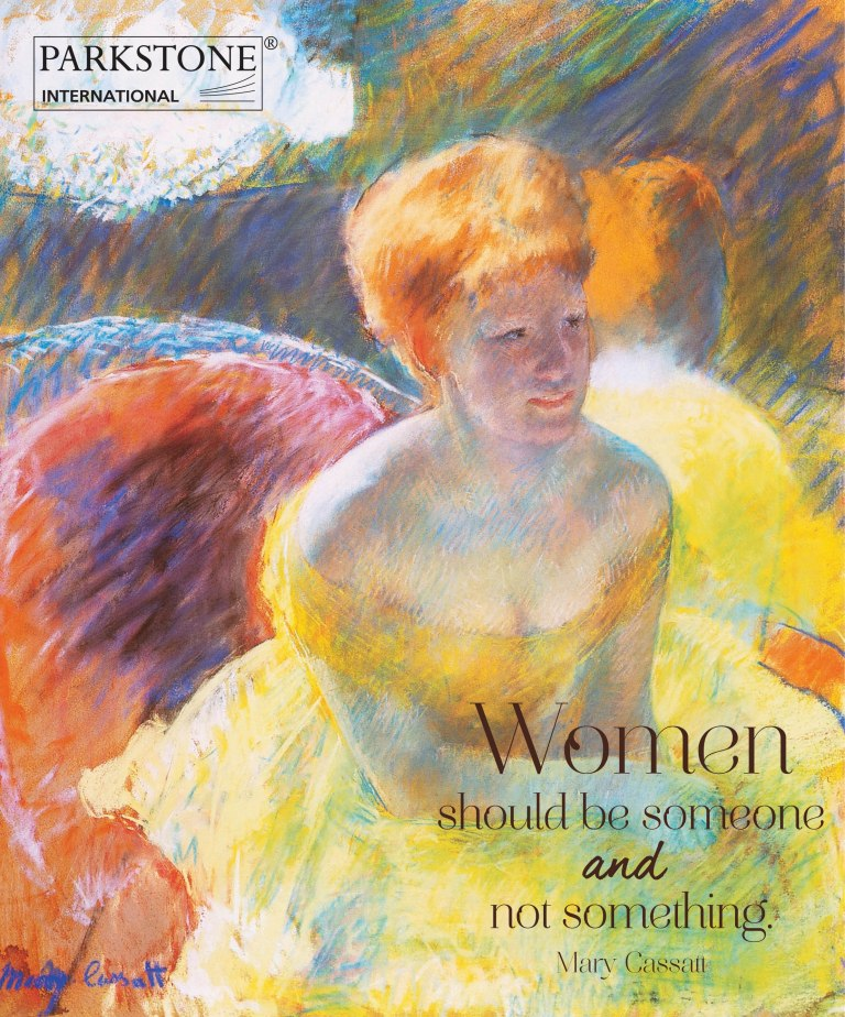 """Women should be someone and not something"" - Mary Cassatt."
