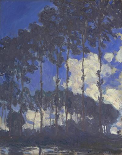 Claude Monet, Poplars on the Epte (1891).