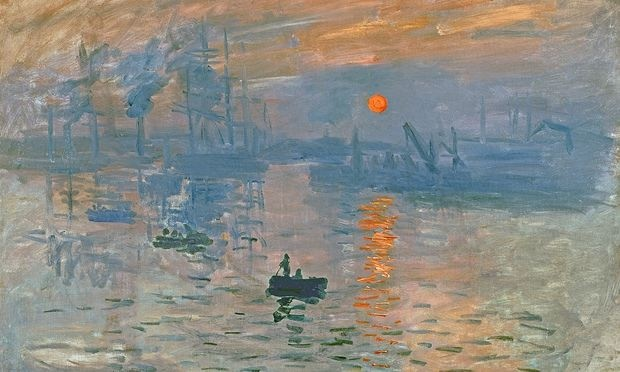 Impression, Sunrise (Impression, soleil levant), 1872. Found in the collection of the Mus e Marmottan Monet, Paris. (Photo by Fine Art Images/Heritage Images/Getty Images) painting|France|impressionism|landscape|Fine Art Images|Fine Art Images|Oil on canvas|Monet|Claude (1840-1926) Photograph: Heritage Images/Heritage Images/Getty Images