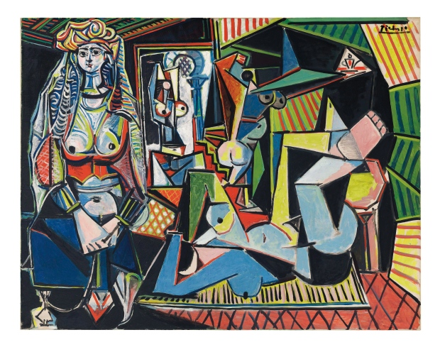 Pablo Picasso's 1955 masterpiece Women of Algiers (Version O) sold for $223 million on May 11. (2015 Estate of Pablo Picasso/Artists Rights Society (ARS), New York/Christie's via AP)
