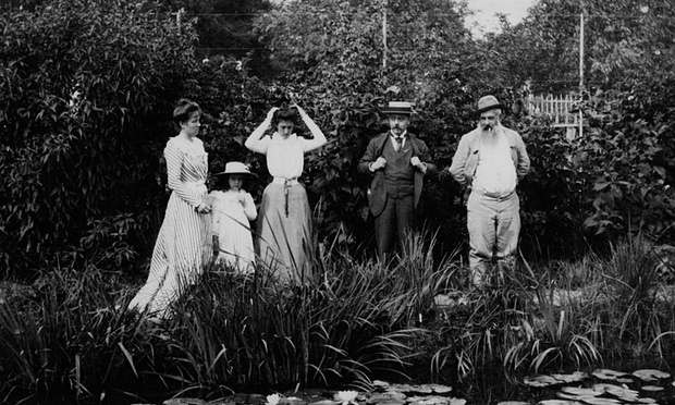 Monet's house in Giverny (1900). Photograph: National Gallery