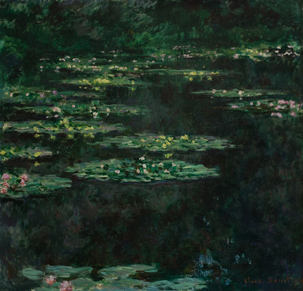 Claude Monet, Water Lillies, 1904. Oil on canvas. 90 x 83 cm. Le Havre, Musée d'Art moderne André Malraux. Photo © MuMa Le Havre. Photography: David Fogel.