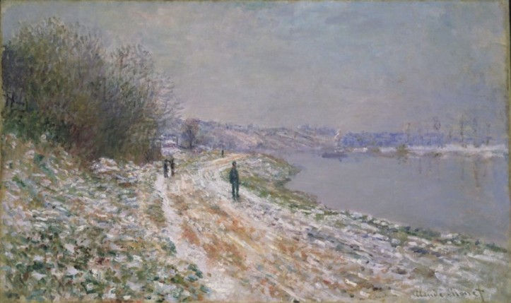 "Claude Monet's painting from about 1875, ""Chemin de Halage a Argenteuil (Tow-path at Argenteuil),"" is one of many impressionist works in the Albright-Knox Art Gallery's collection."