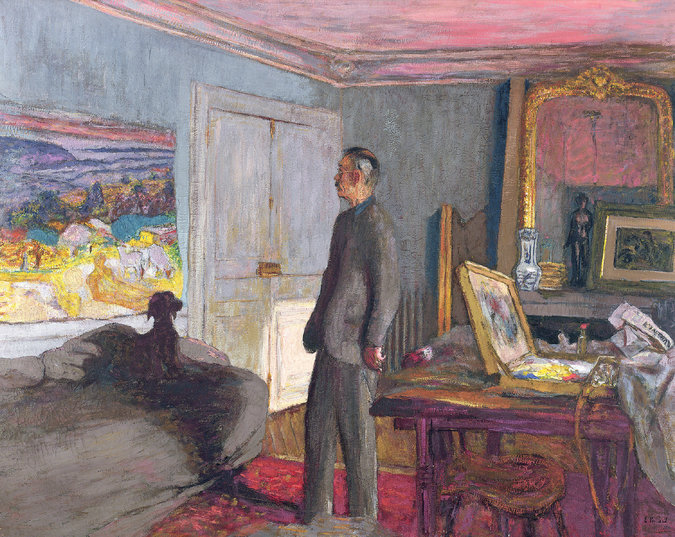 """The Anabaptists: Pierre Bonnard"" (1930-34), by Édouard Vuillard. Credit Roger-Viollet/Bridgeman Images"