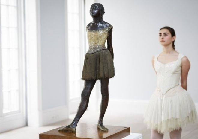 Edgar Degas dancer sculpture fetches £15.8m