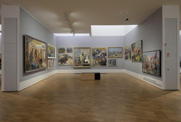 'Romantic and Progressive,' installation view (photo courtesy of Kumu Art Museum of Estonia)